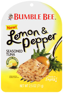 Bumble Bee® Lemon & Pepper 2.5 oz. Package