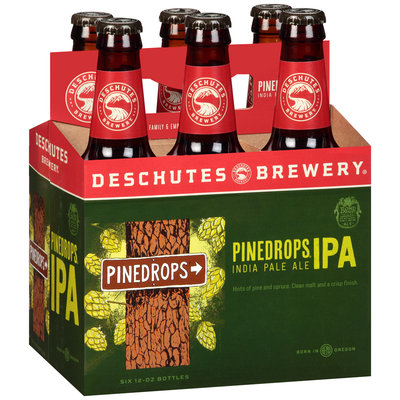 Deschutes Brewery Pinedrops IPA Beer