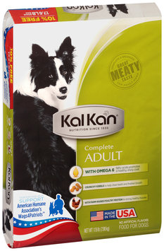 Kal Kan® Complete Adult Food for Dogs 17.6 lb. Bag