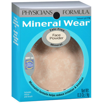 Mineral Wear® Translucent Light Mineral Face Powder SPF 16