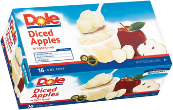 Dole Diced Apples In Light Syrup