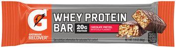 Gatorade Recover® Chocolate Pretzel Whey Protein Bar 2.8 oz Wrapper