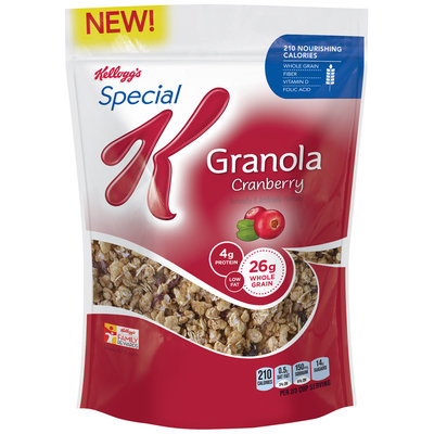 Special K® Kellogg's Granola Cranberry Cereal