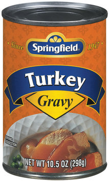 Springfield Turkey Gravy 10.5 Oz Can
