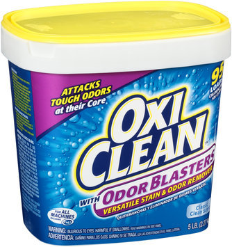 OxiClean™ with Odor Blasters Classic Clean Scent Versatile Stain & Odor Remover 5 lb. Tub