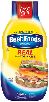 Best Foods® Real Mayonnaise 22 fl. oz. Squeeze Bottle