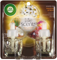 Air Wick® Life Scents™ Paradise Retreat Scented Oil Air Freshener Refills 2-0.67 fl. oz. Bottles