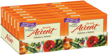 Accent Culantro Y Achiote 0.17 Oz Seasoning 12 Ct Box