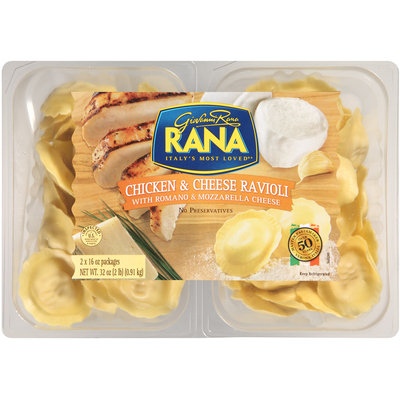 Rana® Chicken & Cheese Ravioli 2-16 oz. Packages