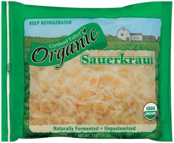 Cortland Valley Organic Sauerkraut 16 Oz Bag