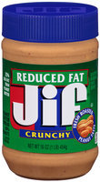 Jif® Reduced Fat Crunchy Peanut Butter
