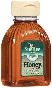 SueBee Sage Honey 8 Oz Squeeze Bottle