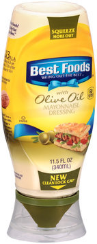 Best Foods® Mayonnaise Dressing with Olive Oil 11.5 fl. oz. Squeeze Bottle