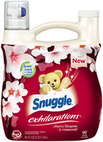 Snuggle® Exhilarations® Cherry Blossom & Rosewood™ Concentrated Fabric Softener 96 fl. oz. Jug