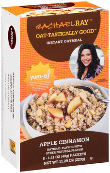Rachael Ray™ Oat-tastically Good™ Instant Oatmeal Apple Cinnamon 8 ct. 11.29 oz. Box