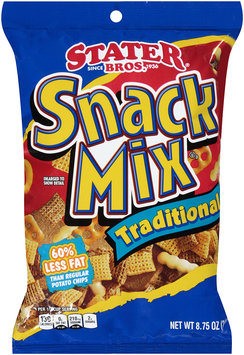Stater® Bros, Snack Mix Traditional 8.75 oz.