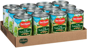 Del Monte™ Harvest Selects™ Cut Italian Beans 12-14.5 oz. Cans
