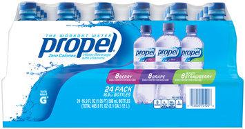 Propel® Berry/Grape/Kiwi Strawberry Workout Water 24-16.9 oz. Pack