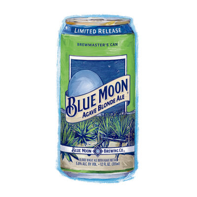 Blue Moon® Limited Release Agave Blonde Ale
