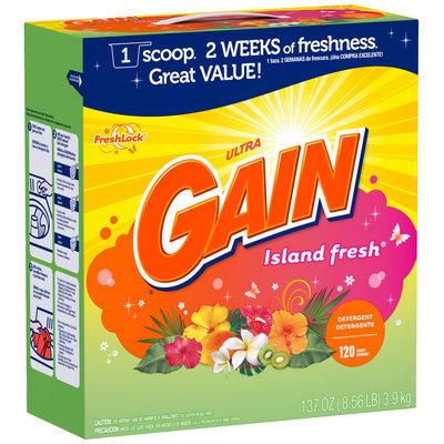 Gain® Ultra Island Fresh with FreshLock Powder Laundry Detergent 137 oz. Box