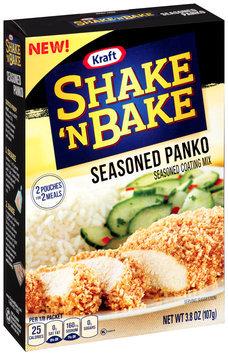Kraft Shake 'n Bake Seasoned Panko Seasoned Coating Mix 3.8 oz. Box