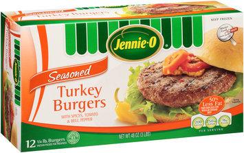 Jennie-O® Seasoned 1/4 lb. Turkey Burgers 48 oz. Box