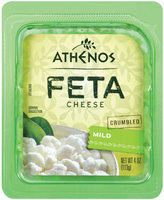 Athenos Crumbled Mild Feta Cheese 4 oz.