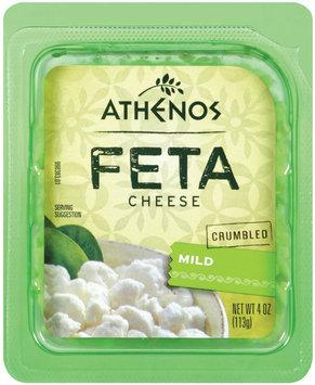 athenos crumbled mild feta cheese