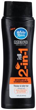 White Rain® Men's Collection 2-in-1 Shampoo & Conditioner 14 fl. oz. Bottle