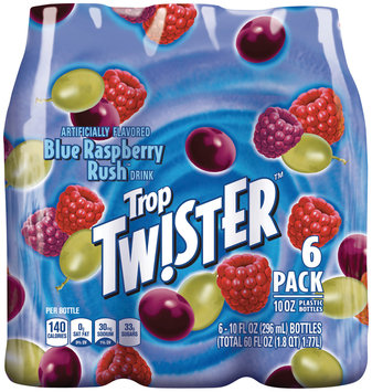 Trop Twister™ Blue Raspberry Rush™ Drink 6 Pack 10 fl. oz. Bottles