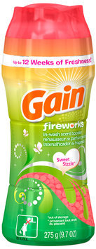 Gain with Fireworks In-Wash Scent Booster 9.7 oz. Bottle