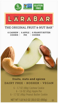 LARABAR® Cashew Bars Fruit & Nut Variety Pack