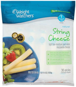 Weight Watchers® Light String Cheese 36 ct Bag