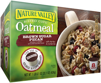 Nature Valley Bistro Cups Oatmeal for the Keurig® Machine Brown Sugar Pecan, 22.1 Ounce