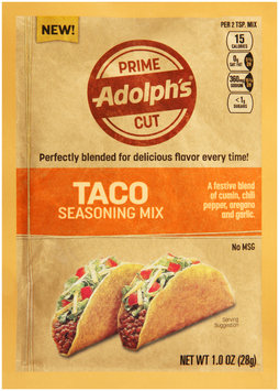 Adolph's® Prime Cut Taco Seasoning Mix 1.0 oz. Packet