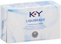 K-Y® Liquibeads® Vaginal Moisturizer 6 ct Box