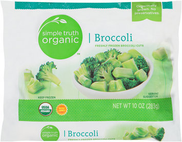 Simple Truth Organic™ Broccoli Cuts 10 oz. Bag