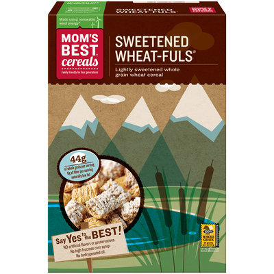 Mom's Best® Cereals Sweetened Wheat-Fuls® 24 oz. Box