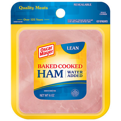 Oscar Mayer Lean Baked Cooked Ham 6 oz. Pack