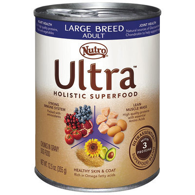 Nutro® Ultra™ Large Breed Adult Chunks in Gravy Dog Food 12.5 oz. Can