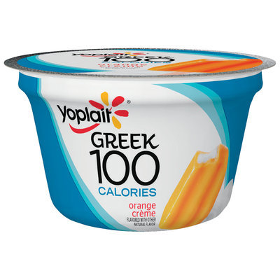 Yoplait® Greek 100 Calories Orange Creme Fat Free Yogurt 5.3 oz. Cup