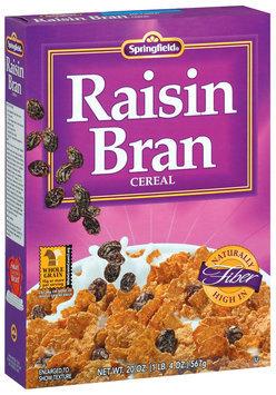 Springfield Raisin Bran Cereal 20 Oz Box