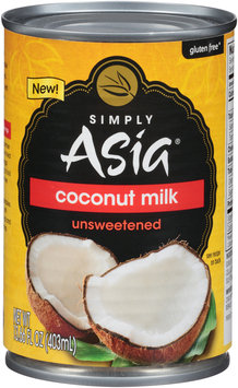 Simply Asia® Unsweetened Coconut Milk 13.66 fl. oz. Can