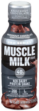 Muscle Milk® Pro Series Knockout Chocolate Non Dairy Protein Shake 14 fl. oz. Bottle