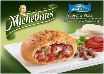 Michelina's Authentico Supreme Pizza Mega Snackers 2 Ct Box