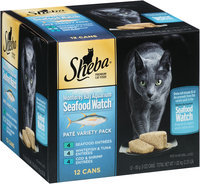 Sheba® Pate In Natural Juices Variety Pack 12-3 oz. Cans