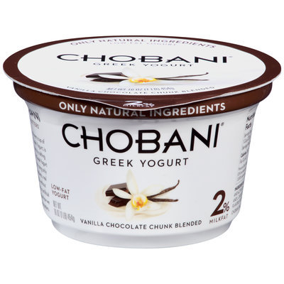 Chobani® Vanilla Chocolate Chunk Blended Low-Fat Greek Yogurt