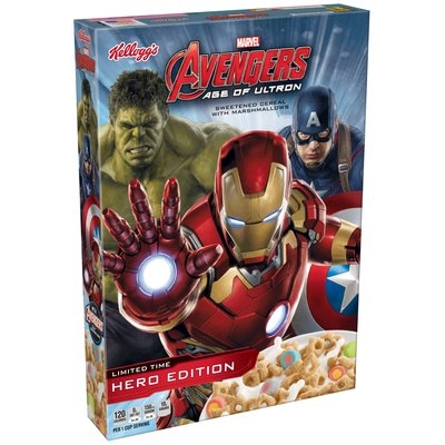 Kellogg's® Marvel Avengers Age of Ultron Cereal 8.4 oz. Box