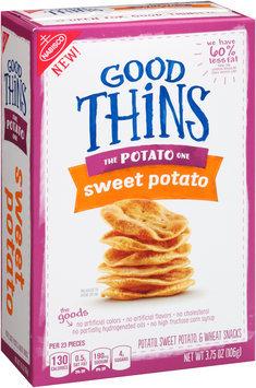 Good Thins Sweet Potato Snacks 3.75 oz. Box