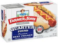 Farmer John® Quarter Pound Beef Franks 80 oz. Box